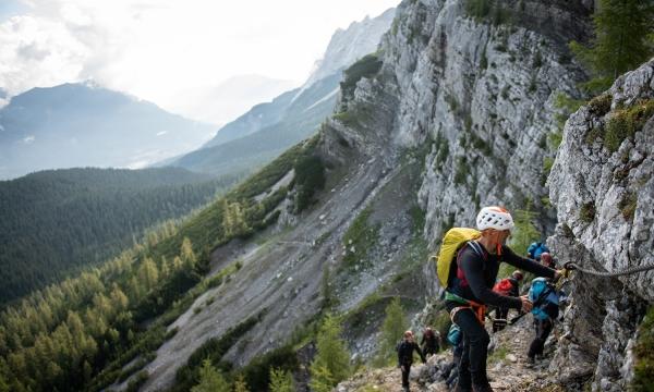 Klettersteigset Zugspitze : Mit den bergführern der alpinschule garmisch auf die zugspitze