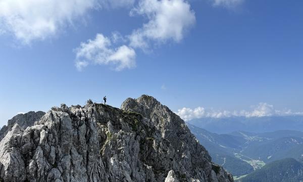 Klettersteig Mittenwald : Der mittenwalder höhenweg klettersteig youtube