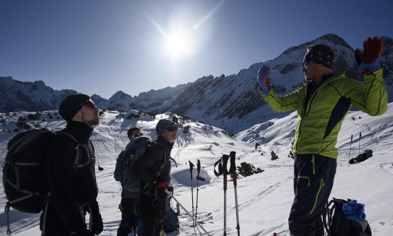 Klettersteigset Ausleihen Garmisch : Skitourenkurse für einsteiger alpinschule garmisch
