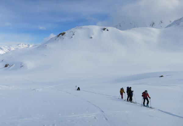 Klettergurt Skitouren : Skitourenwoche auf der heidelberger hütte alpinschule garmisch