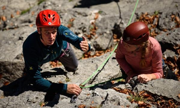 Klettergurt Für Einsteiger : Intensiv kletterkurs am fels alpinschule garmisch
