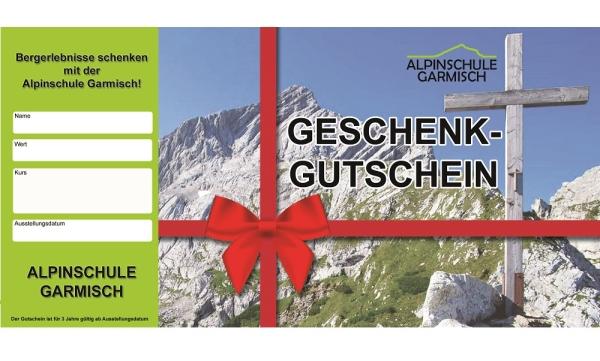 Kletterausrüstung Verleih Garmisch : Gutschein bei der alpinschule garmisch kaufen