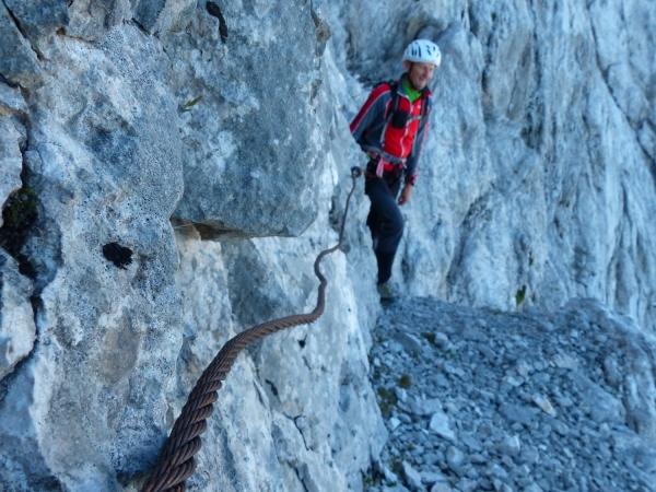 Klettersteig Eisenzeit : Zugspitze nordwand eisenzeit adventure eu