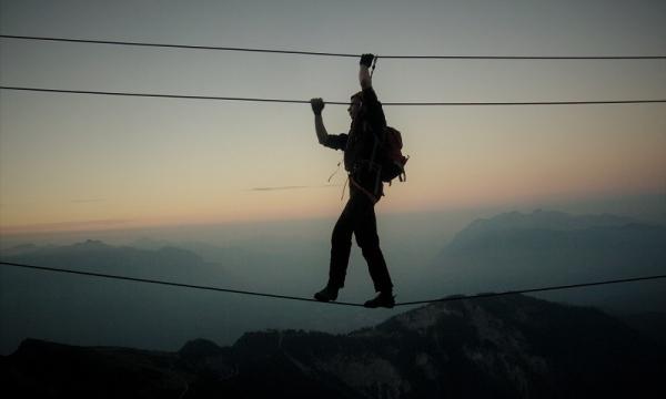 Klettersteigset Leihen Garmisch : Mit bergführer durch den mauerläufer klettersteig