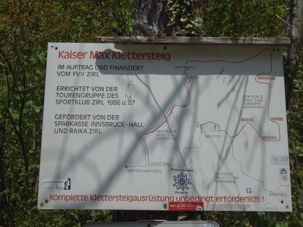 Klettersteig Map : Kaiser max klettersteig mit bergführer begehen