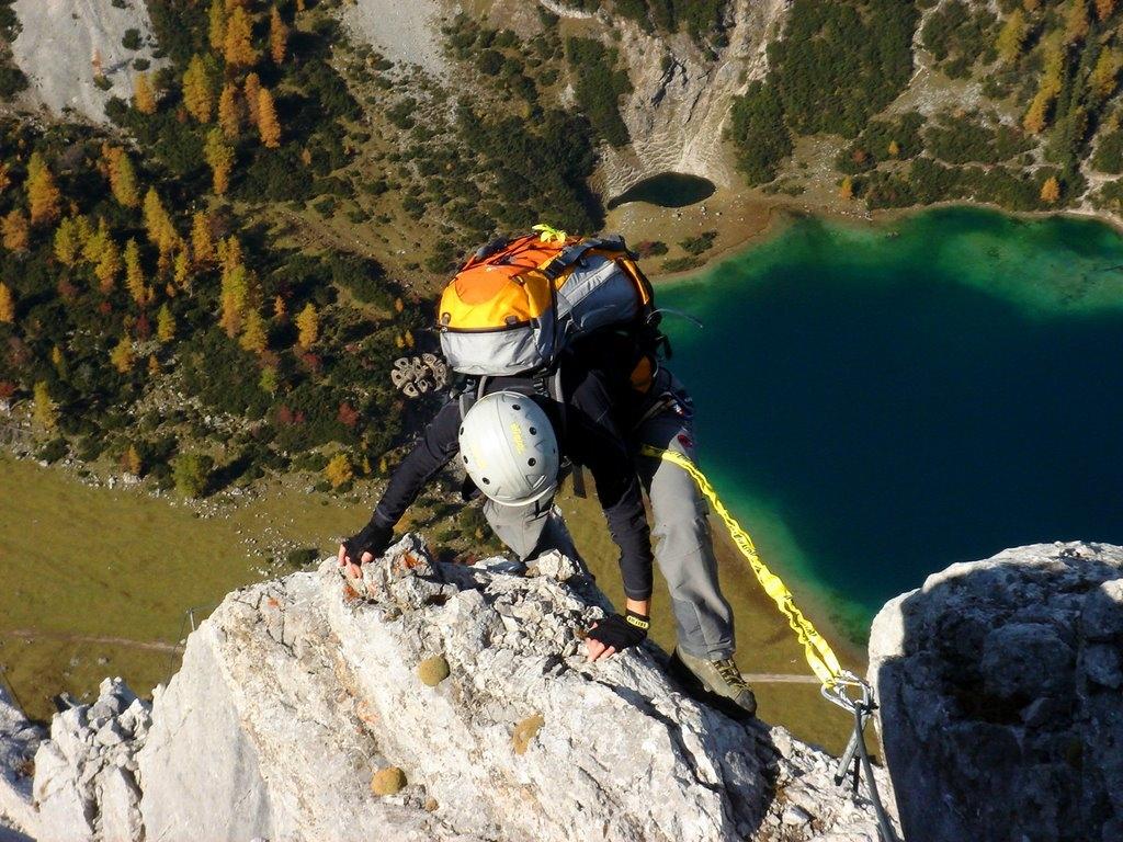 Klettersteig Tajakante : Seebener klettersteig und tajakante tage