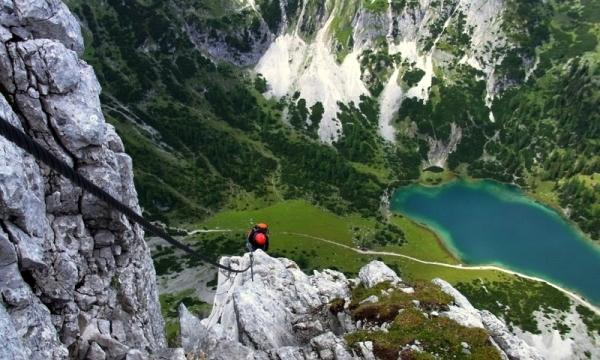 Klettersteig Bavaria : Klettersteige im stubaital in Österreich tirol alpen guide