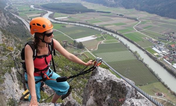 Klettersteigset Sportler : Geierwand klettersteig für genießer und familien