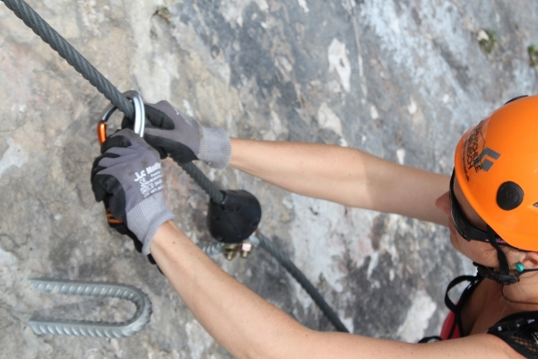 Klettersteigset Leihen Garmisch : Geierwand klettersteig für genießer und familien