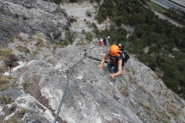 Klettersteigset Ausleihen Garmisch : Geierwand klettersteig für genießer und familien