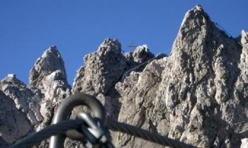 Klettersteig Nordkette : Innsbrucker klettersteig mit bergführer alpinschule garmisch