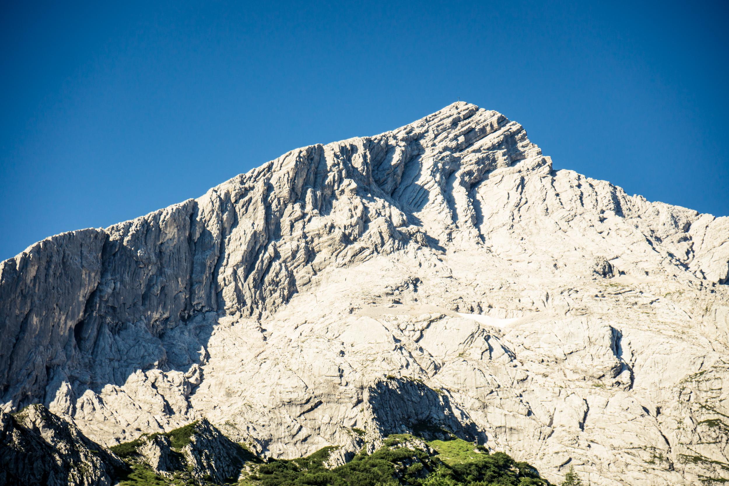 Klettersteigset Ausleihen Garmisch : Geführte tour über die ferrata auf alpspitze