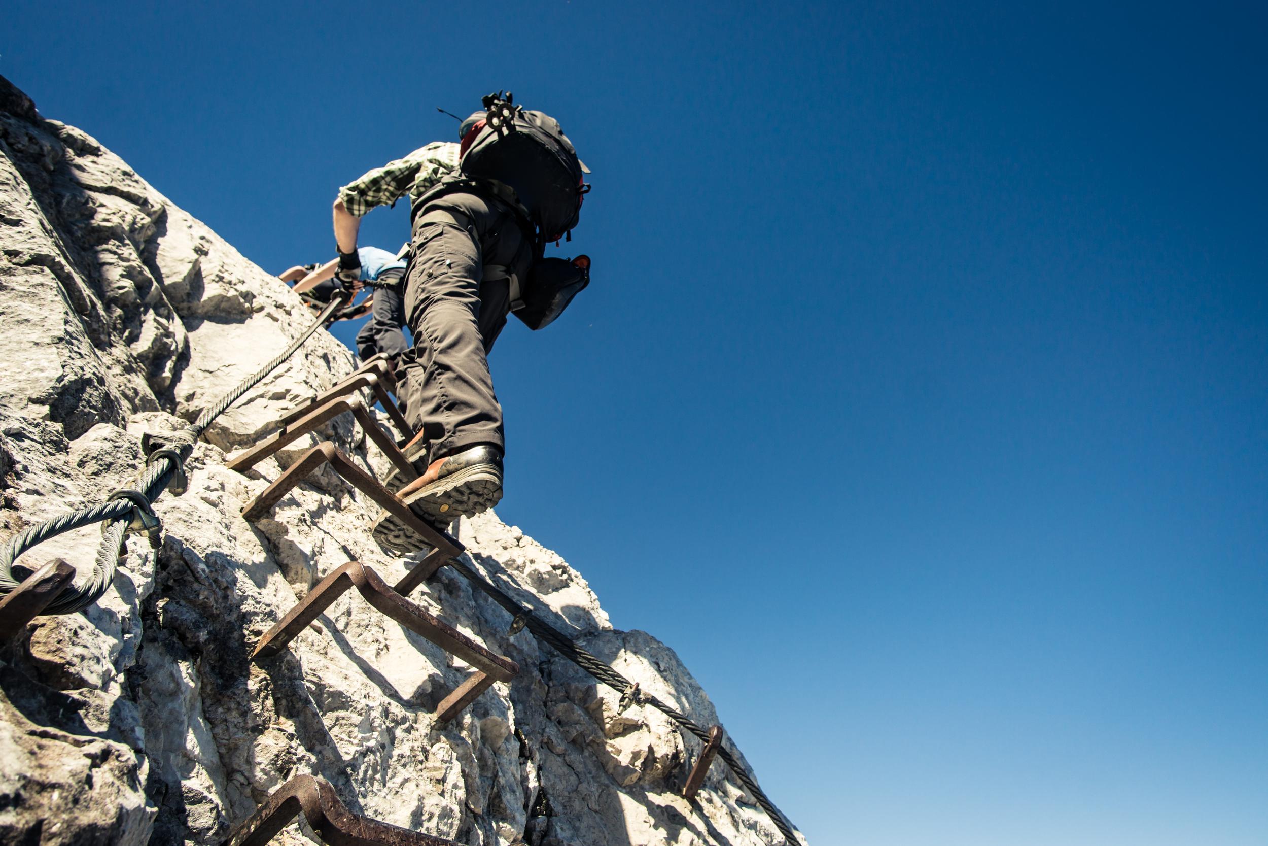 Klettersteig Grade : Klettersteige kitzalps guide st johann in tirol
