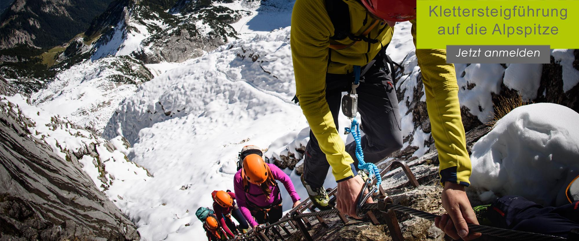 Klettersteig-Erlebnis für Einsteiger